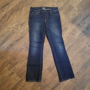 Old Navy Curvy Dark Blue Boot Cut Jeans size 6s